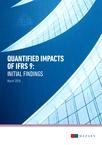 Quantified impacts of IFRS 9 - initial findings